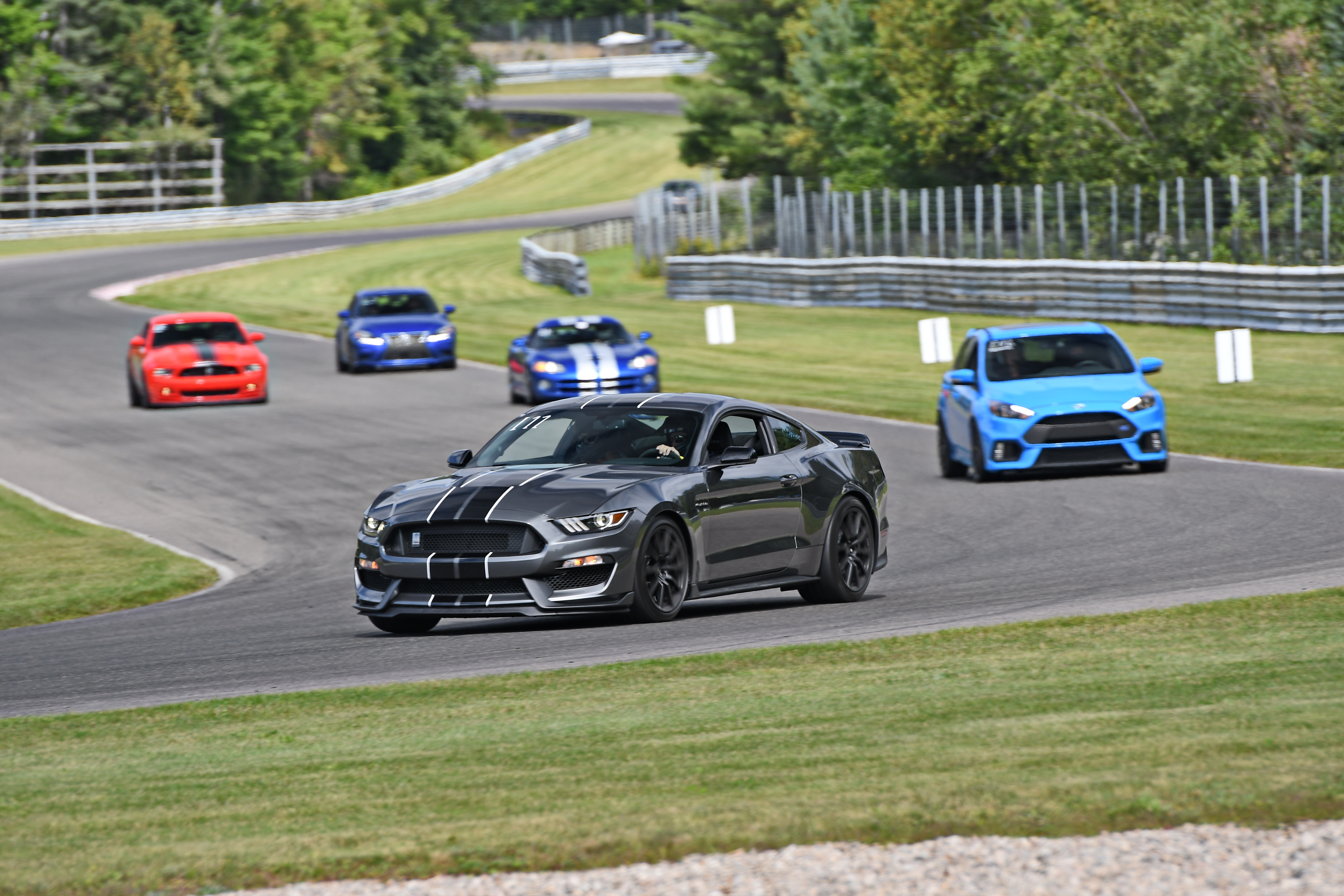2017 Mustang Gt350 Black >> 2017 GT350 magnetic grey/black stripes in Montreal! - Attachments