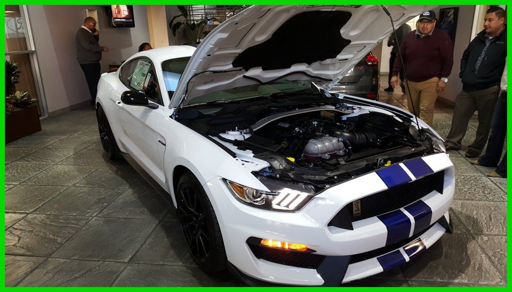 2016 Shelby Mustang Gt350 White Blue Strips San Antonio Tx