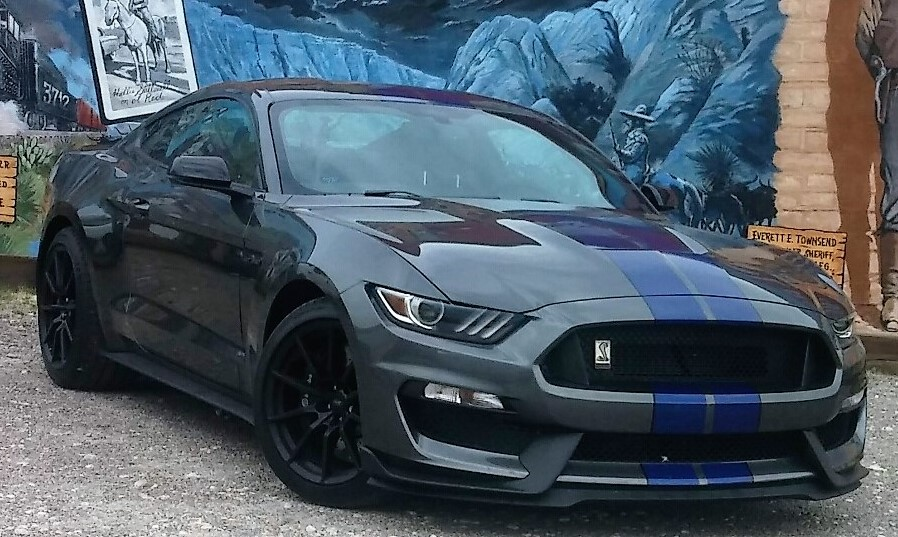 04 Mustang Gt >> magnetic with blue stripes